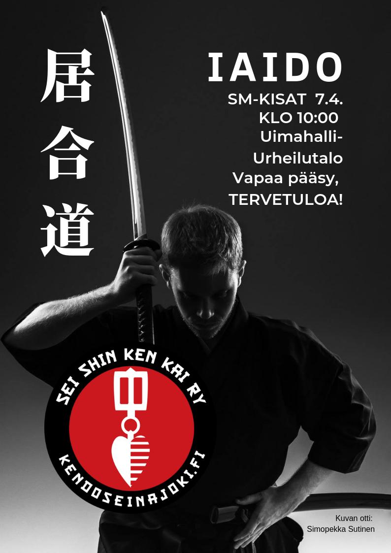 Iaido SM 2019 Seinäjoella 7.4.!
