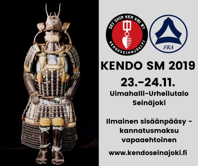 Katsomaan kisoja – Kendo SM 2019 23.-24.11. Seinäjoella